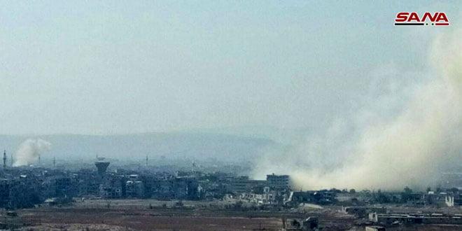 Photo of وحدات الجيش بإسناد من سلاح الجو تتقدم على عدة محاور في منطقة الحجر الأسود