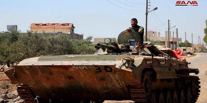 Photo of بعد الحارة ..خربة الطير والشيخ سعد بيد الجيش السوري في درعا