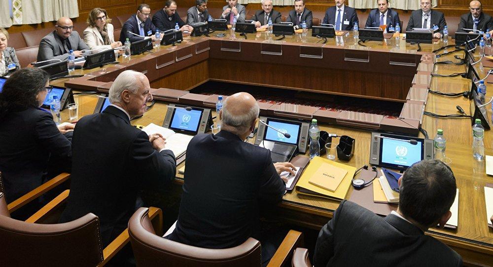 """Photo of ورقة """" المجموعة المصغرة """" ..على طاولة البحث بين وفد الحكومة السورية والأمم المتحدة..هل وافقت دمشق عليها"""