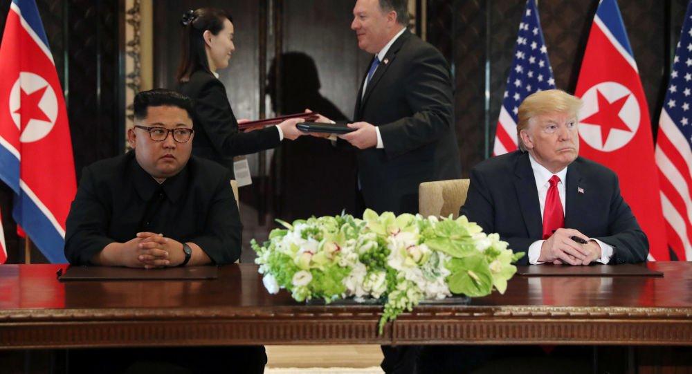 Photo of ترامب يغرد بعد لقاء كيم :اجتماعي معه كان عظيما