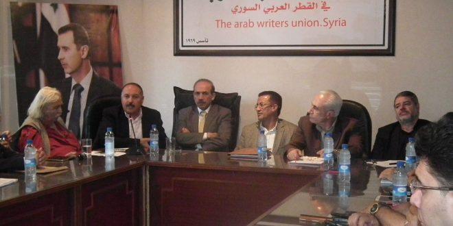 Photo of استقالة رئيس اتحاد الكتاب العرب في دمشق