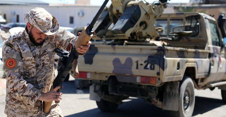 Photo of إسقاط طائرة تركية مسيرة لضرب مواقع للجيش الليبيّ. .