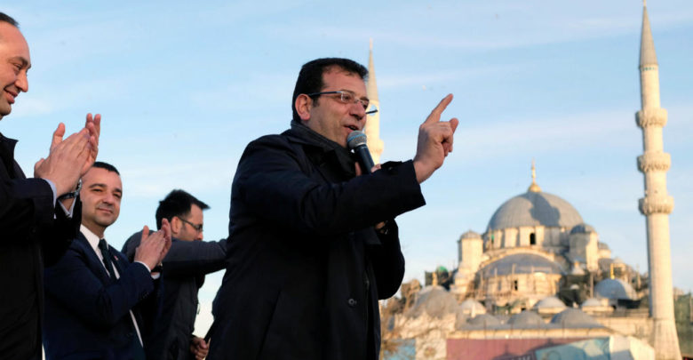 """Photo of عمدة بلدية إسطنبول المعارض ينتقد """"ظلم"""" أردوغان"""