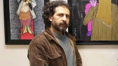 """Photo of التشكيلي خالد حجار يفتتح معرضه """"مع الروح"""" والفنانين والأصدقاء.. ويحارب العتمة بالضوء والألم بالأمل"""