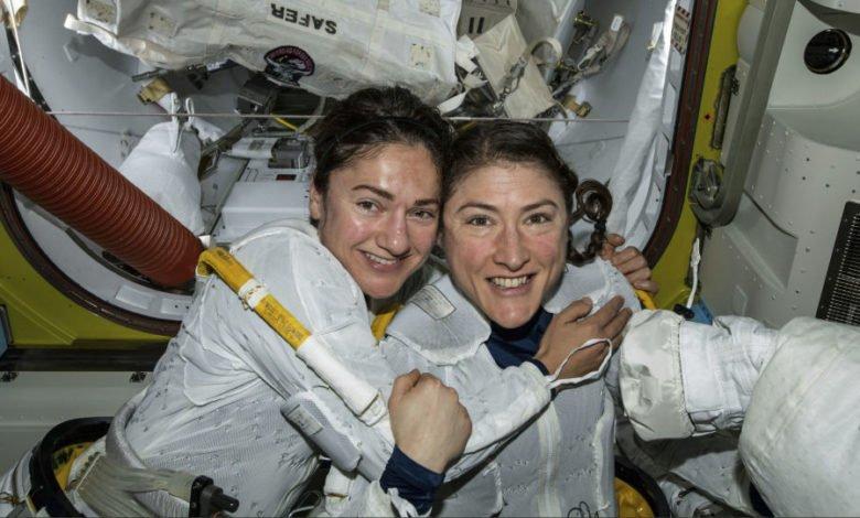 Photo of أميركية تحطم الرقم القياسي لأطول مدة تقضيها امرأة في الفضاء