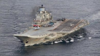 Photo of حريق بحاملة الطائرات الروسية الوحيدة