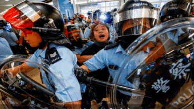 Photo of هونغ كونغ ..مصادرة سلاح واعتقال 11 شخصاً قبل مسيرة احتجاجية
