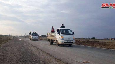 """Photo of إعادة فتح الطريق الدولي"""" الحسكة-حلب"""" و الجيش السوري ينتشر على جانبيه"""