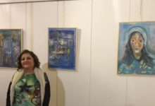 "Photo of التشكيلية سوسن حاج إبراهيم تعزف ألوانها في معرضها ""نغمات أنثوية"" بروح التحدي والتجدد"