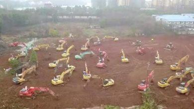Photo of بالصور.. الصين تبني مستشفى في 10 أيام لمواجهة الفيروس