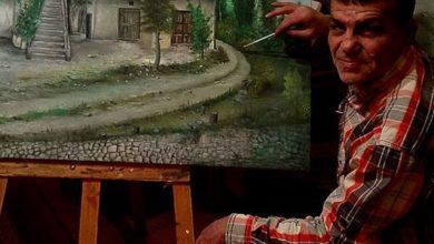 Photo of يرى أنه لا بد للفنان أن يتأثر بما حوله.. التشكيلي اللبناني ياسر ديراني: أترك الألوان تمشي ثم أدلها على الطريق