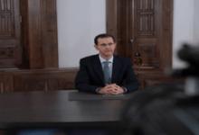 Photo of الرئيس الأسد يهنئ أهل حلب ويتعهد بمواصلة تحرير كامل الأراضي السورية