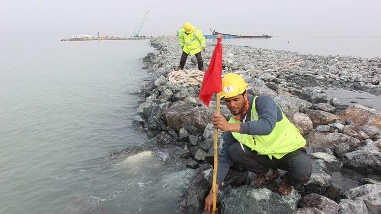 """Photo of العراق يسعى لإدراج كاسر الأمواج في ميناء الفاو في موسوعة """"غينيس"""""""