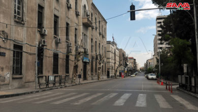 Photo of تطبيق قرار حظر للتجوال في سورية يومي الجمعة والسبت من الـ 12 ظهراً حتى الـ 6 صباحاً لليوم التالي ..