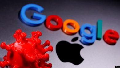 "Photo of ""أبل"" و""جوجل"" تطلقان الإصدار الأولي لتقنية مكافحة كورونا"