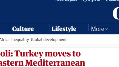 Photo of صحيفة الغارديان:من إدلب إلى طرابلس.. تركيا تتحرك للسيطرة على شرق المتوسط