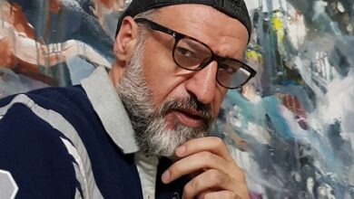 "Photo of لوحة ""القيامة"" للفنان بسام الحجلي.. لا تحاكي الدين، جذورها وطنية وآفاقها فكرية"