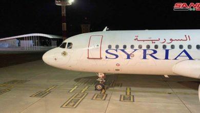 Photo of بعد انقطاع لثماني سنوات.. تشغيل أول رحلة طيران للخطوط الجوية السورية من دمشق إلى أرمينيا