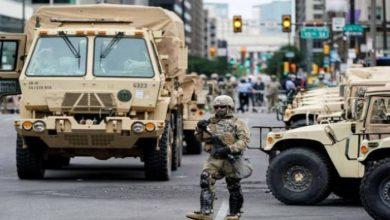 Photo of ترامب يغرِّد عمدة واشنطن غير كفؤة ..والبنتاغون يسحب آخر جنوده من واشنطن