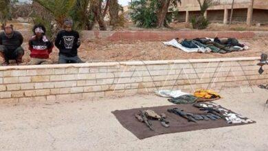 Photo of في كمين محكم..القضاء على مجموعة إرهابية شمال غرب منطقة السخنة