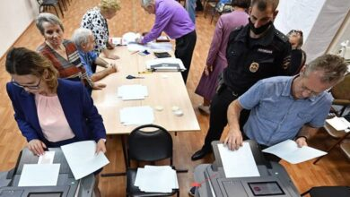 Photo of لجنة الانتخابات الروسية: نسبة دعم التعديلات الدستورية 78 بالمئة بعد فرز 99 بالمئة من الأصوات
