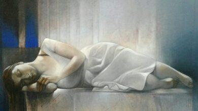 """Photo of """"سأنام الآن ملء جفوني"""" .. رياض ندّاف"""