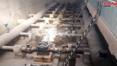 Photo of مياه الحسكة: تشغيل محطة علوك وضخ المياه لأحياء المدينة