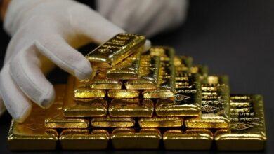 Photo of أونصة الذهب فوق 1800 دولار