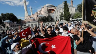 "Photo of ""آيا صوفيا ليست غنيمة أردوغان"".. رئيس حزب يوناني يقترح فرض عقوبات قاسية على تركيا"