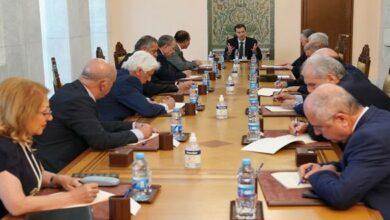 Photo of الرئيس الأسد يترأس اجتماعاً للقيادة المركزية لحزب البعث العربي الاشتراكي