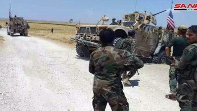 Photo of حواجز الجيش تعترض عربات لقوات الاحتلال الأمريكي بريف الحسكة الغربي