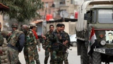 Photo of استشهاد ضابط من وحدة حفظ الأمن والنظام في الرقة وإصابة عدد من العناصر برصاص إرهابيين