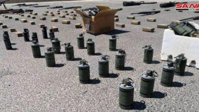 Photo of ضبط كميات كبيرة من الأسلحة من مخلفات الإرهابيين في المنطقة الجنوبية