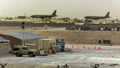 """Photo of واشنطن تنشر أول مجموعة من""""قوة الفضاء""""في قاعدة العديد الجوية في قطر"""