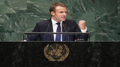 Photo of ماكرون  في الأمم المتحدة: على تركيا احترام سيادة الدول الأوروبية والقانون الدولي