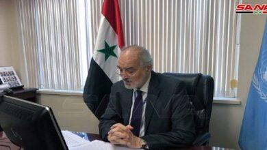 Photo of الجعفري: الغرب يفبرك الأكاذيب بشأن ملف الكيميائي في سورية ويجب إغلاق هذا الملف نهائياً
