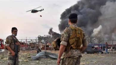 Photo of العثور على كمية من المفرقعات في مرفأ بيروت