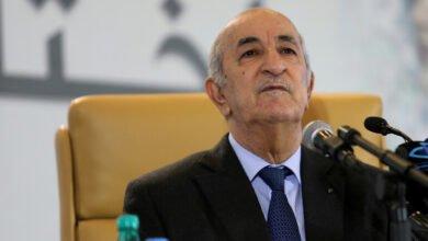 """Photo of الرئيس الجزائري: لن نشارك ولن نبارك """"الهرولة إلى التطبيع"""""""