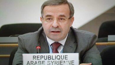 Photo of سورية تجدد دعمها رئيس بيلاروس وتنتقد استغلال مجلس حقوق الإنسان للتدخل في الشؤون الداخلية للدول