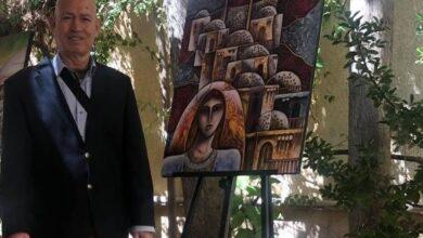 """Photo of الفنان الرمز محمد الركوعي.. قصة لوحة واحدة تحيلنا لحكايا كل أعماله الفنية وعنوانها الأسمى """"فلسطين"""""""