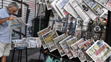 "Photo of أنقرة تستدعي سفير اليونان بسبب ""عنوان صحفي"" ضد أردوغان"