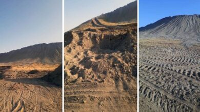 Photo of الاحتلال التركي ومرتزقته الإرهابيون يدمرون التلال الأثرية في حوض البليخ بالرقة