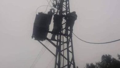 Photo of ريف طرطوس: الانتهاء من صيانة أعطال الشبكة الكهربائية الناجمة عن الحرائق