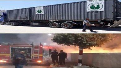 Photo of الحسكة تخسر المخبز المتنقل بسبب حريق