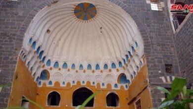 Photo of قصر الزهراوي في حمص يستعيد حلته الزاهية