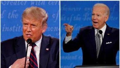 Photo of مساعدو ترامب ينصحوه بأن يتحدث في المناظرة المقبلة بهدوء ولا يقاطع خصمه وأن يمزح أكثر