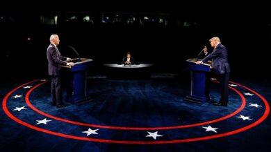 Photo of كورونا والفساد يتصدران المناظرة الأخيرة بين ترامب وبايدن
