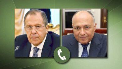 Photo of لافروف وشكري يبحثان تنسيق الجهود لحل أزمتي ليبيا وسوريا سياسيا