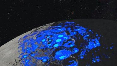 "Photo of ""ناسا"" تعلن عن اكتشاف مياه في المناطق غير المظلمة على سطح القمر"