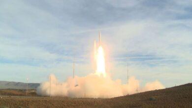 Photo of الولايات المتحدة تختبر صاروخاً باليستياً عابراً للقارات